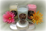 Soy Candles Jelly Jars