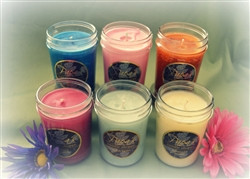 6 Pack Soy Candles